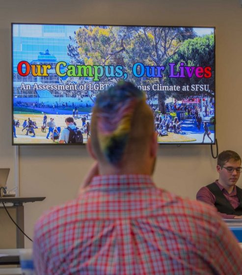 Research fuels evaluation of campus climate for LGBTQ+ students