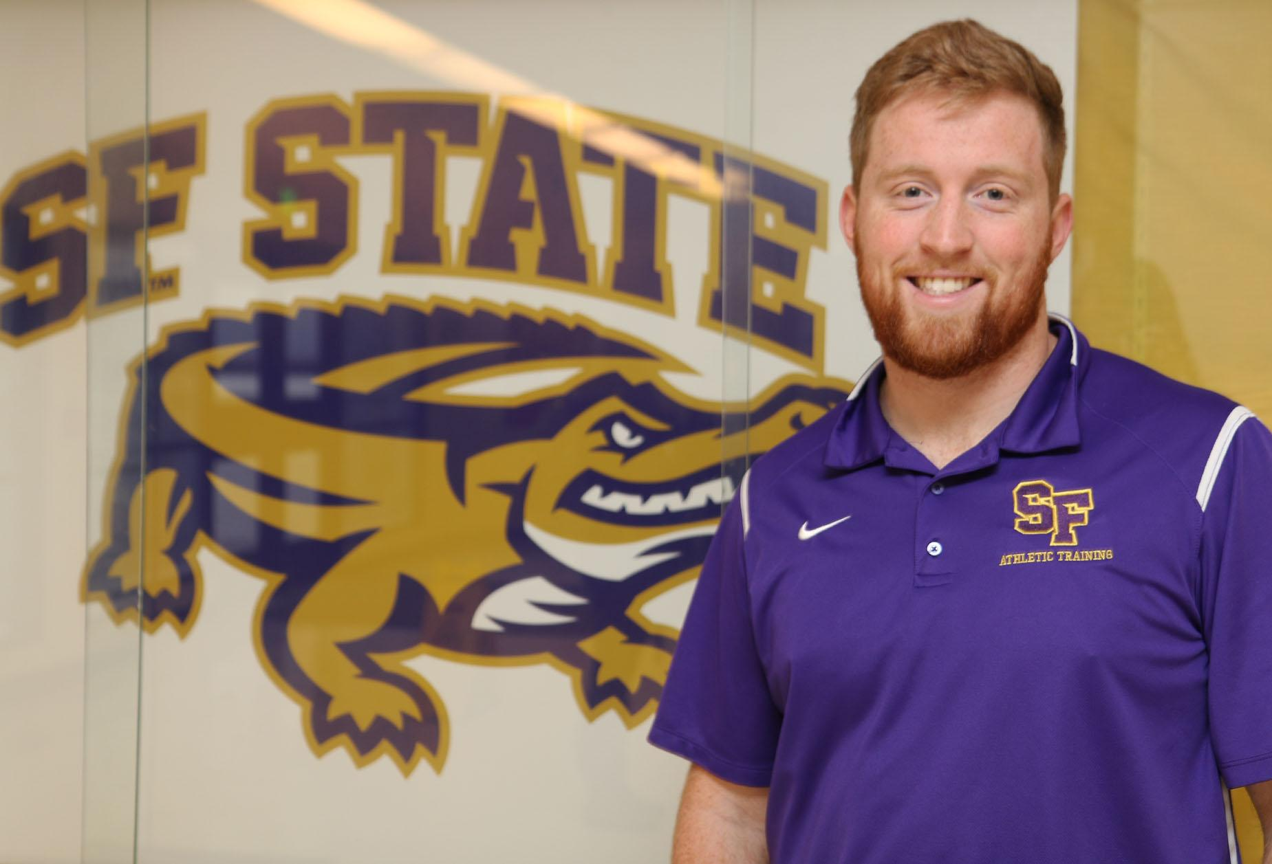 San Francisco State welcomes Phil Littlejohn to the campus as an athletic trainer on February 7, 2016.