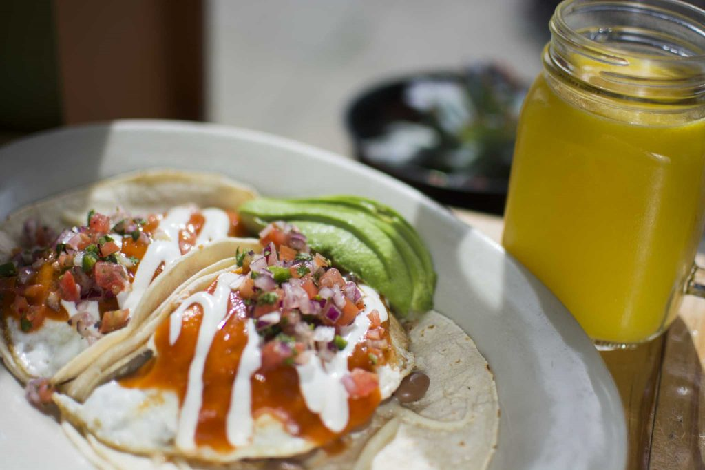 The+Mission+Edge+Cafe%2C+located+at+5999+Mission+St.+in+Daly+City%2C+Calif.%2C+serves+a+Huevos+Rancheros+%28two+eggs+in+any+style%2C+beans%2C+cheese%2C+pico+de+gallo%2C+avocado%2C+sour+cream%2C+house+sauce+and+corn+tortillas%29+%28%248.75%29+and+a+freshly+squeezed+orange+juice+%28%244.75%29+on+Thursday%2C+March+9%2C+2017.+%28Lee+Kin%2FXpress%29