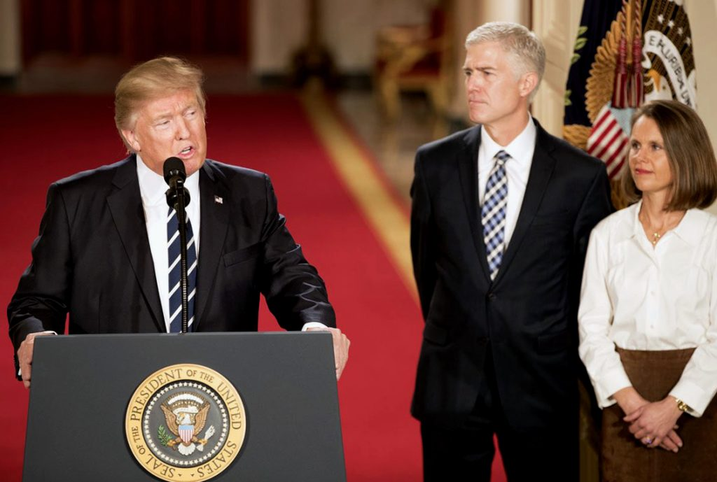 Meet the man who will change your life – Gorsuch confirmed as 113th Supreme Court Justice