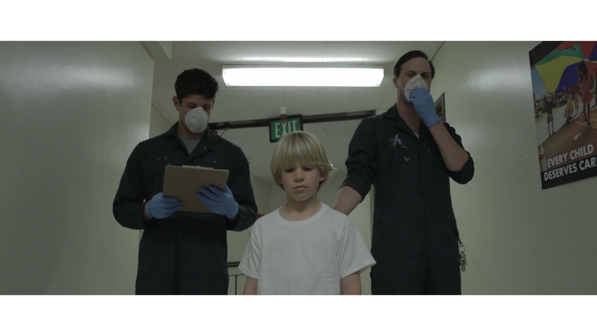 A scene from Adam Gold's film