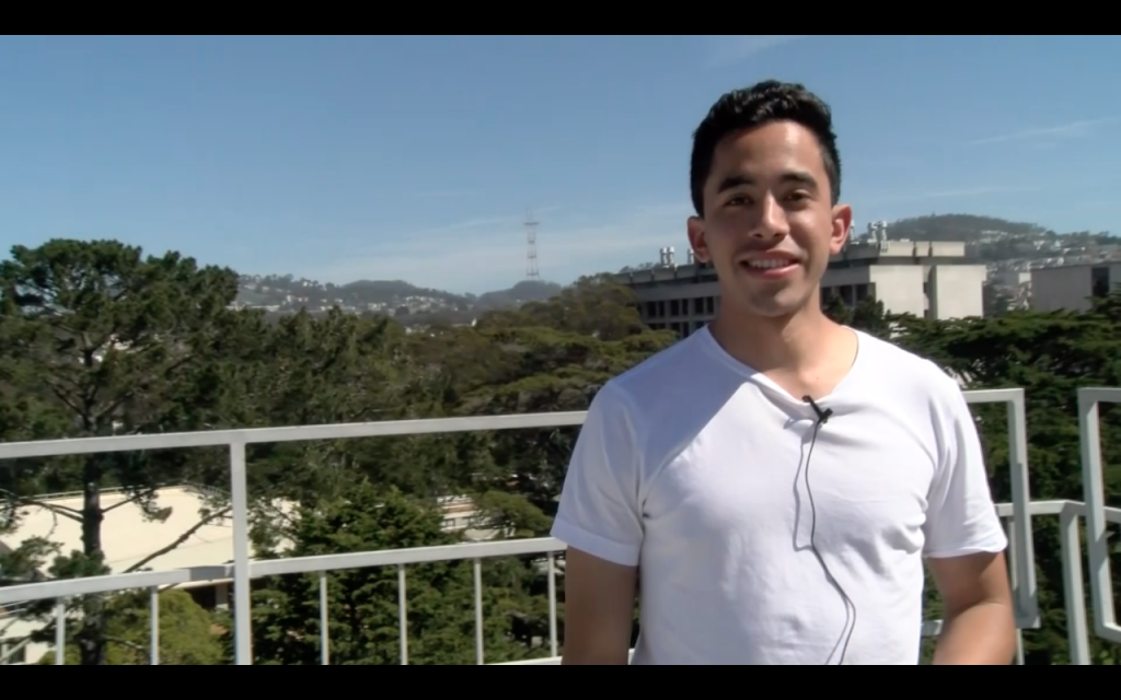 An SF State student reveals his best kept secret high above campus on the roof of the Cesar Chavez Student Center.