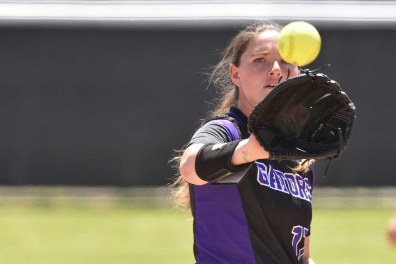 Senior softball pitcher takes career overseas