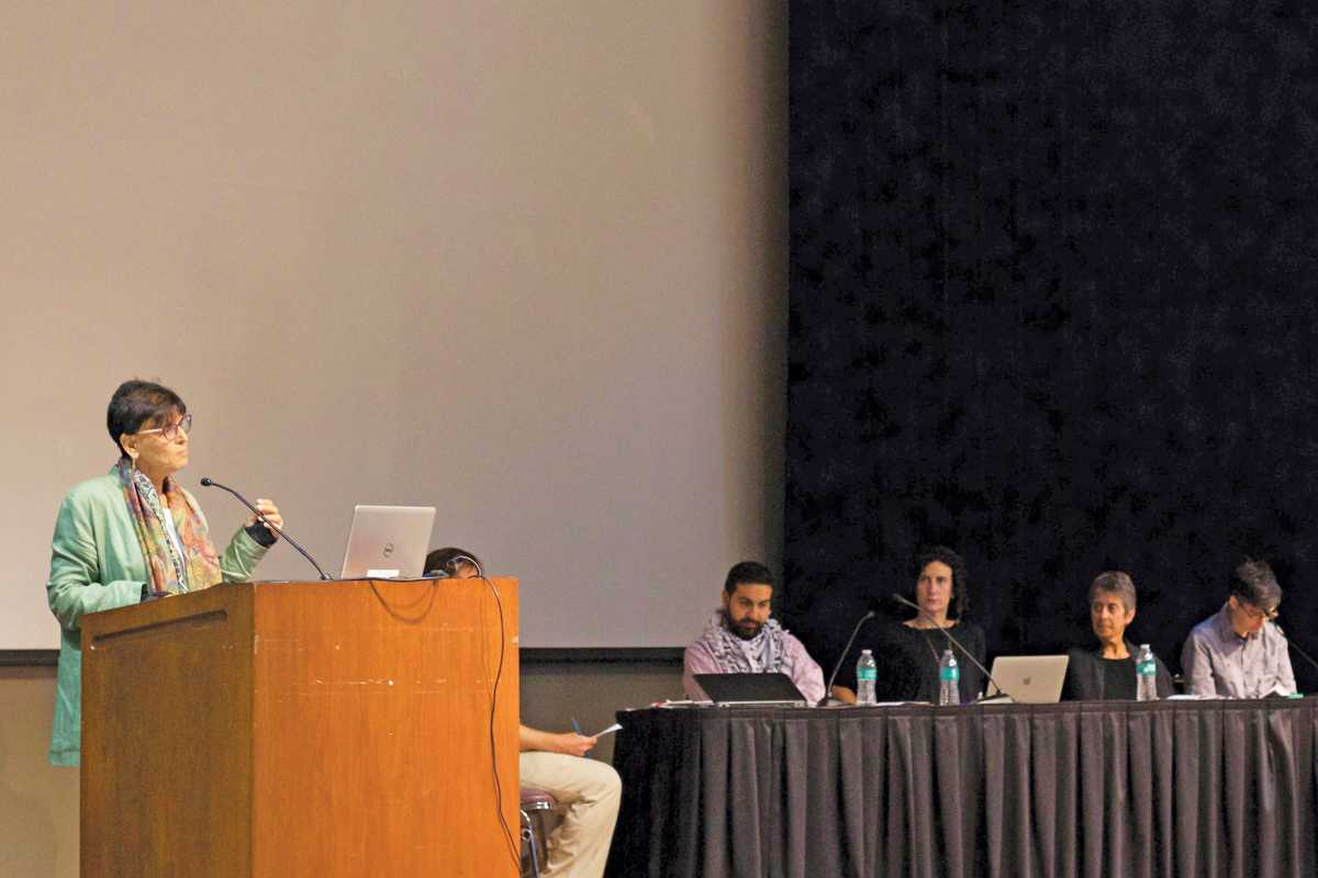 Freedom of Speech panel brings Palestinian community issues to light