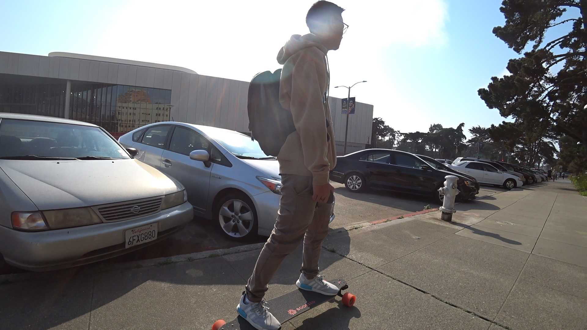 Emerging Electric Skateboard Scene at SF State