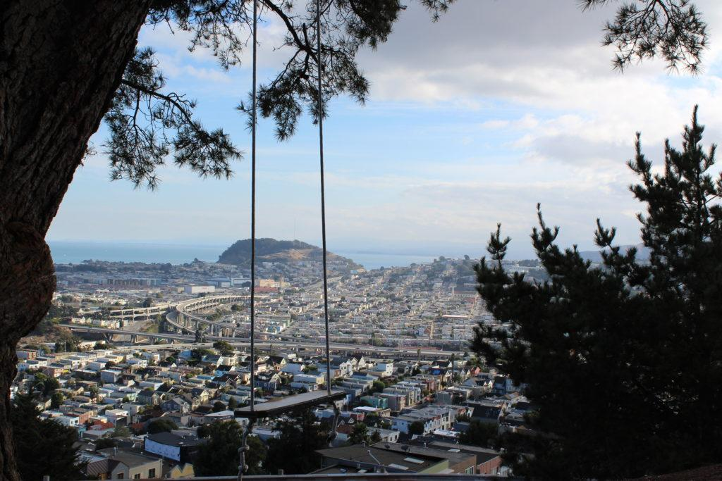 A+view+from+the+summit+of+Bernal+Hill+in+San+Francisco.+%28Lea+Loeb%2FGolden+Gate+Xpress%29%0A