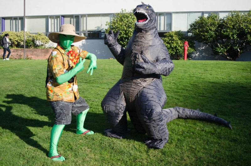 SF State students show off their Halloween costumes
