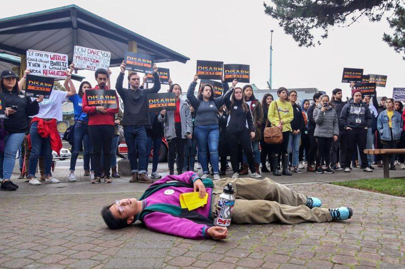 SF State students participate in nationwide walkout against gun violence
