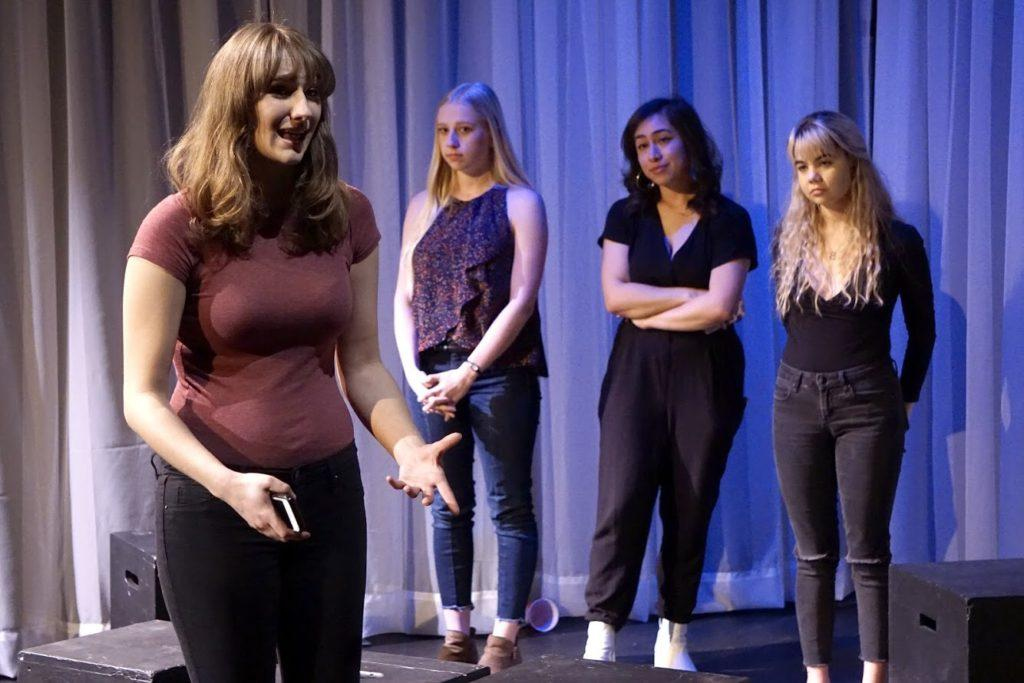 The Fringe: short stories written and directed by students