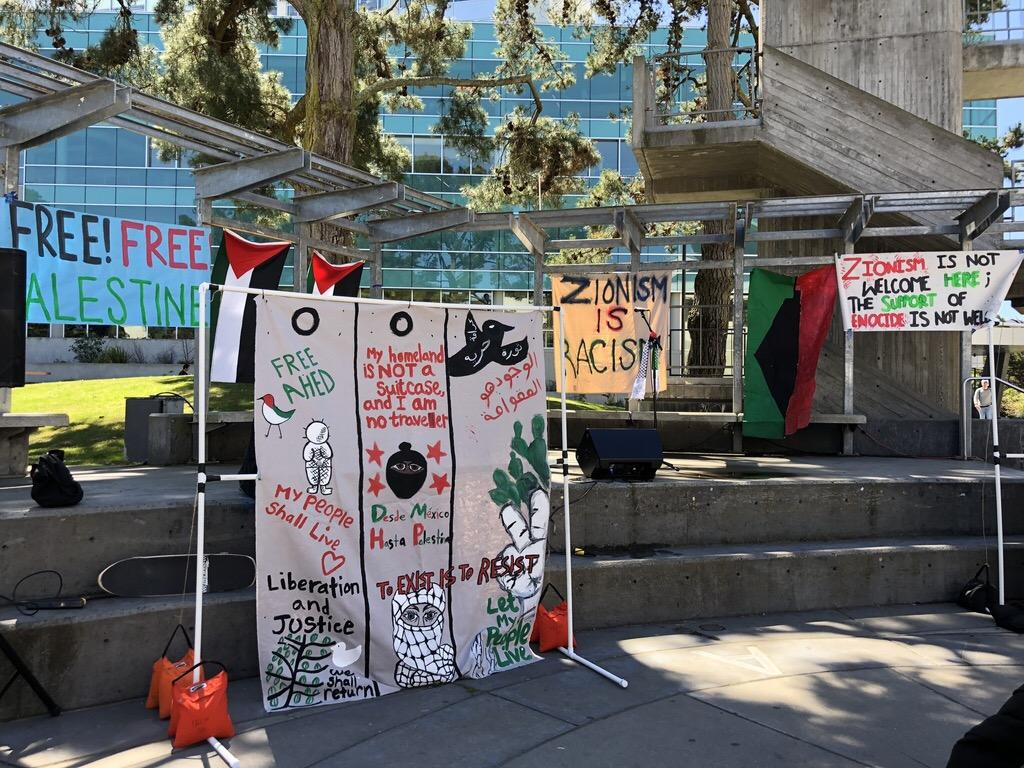 Awareness Week puts spotlight on Palestine