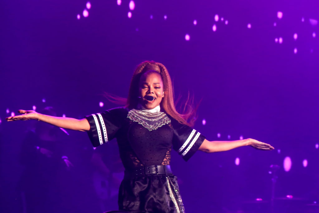 Janet Jackson performs at the Lands Ends stage during Outside Lands in San Francisco, Calif., on Sunday, August 12, 2018. (Adelyna Tirado/ Golden Gate Xpress)