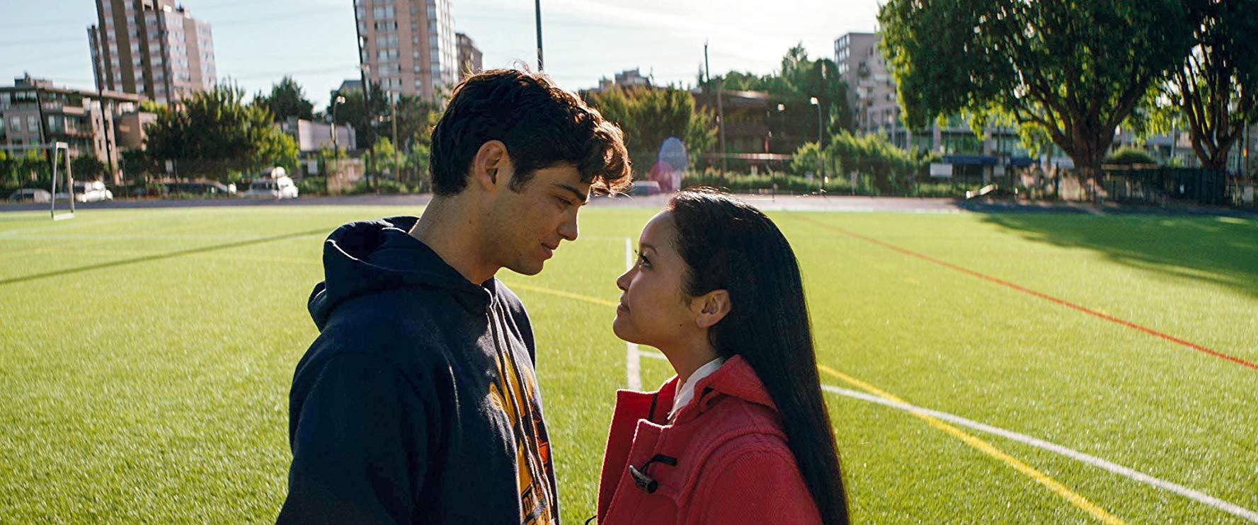 Noah Centineo and Lana Condor in To All the Boys I've Loved Before (2018). Credit: Netflix
