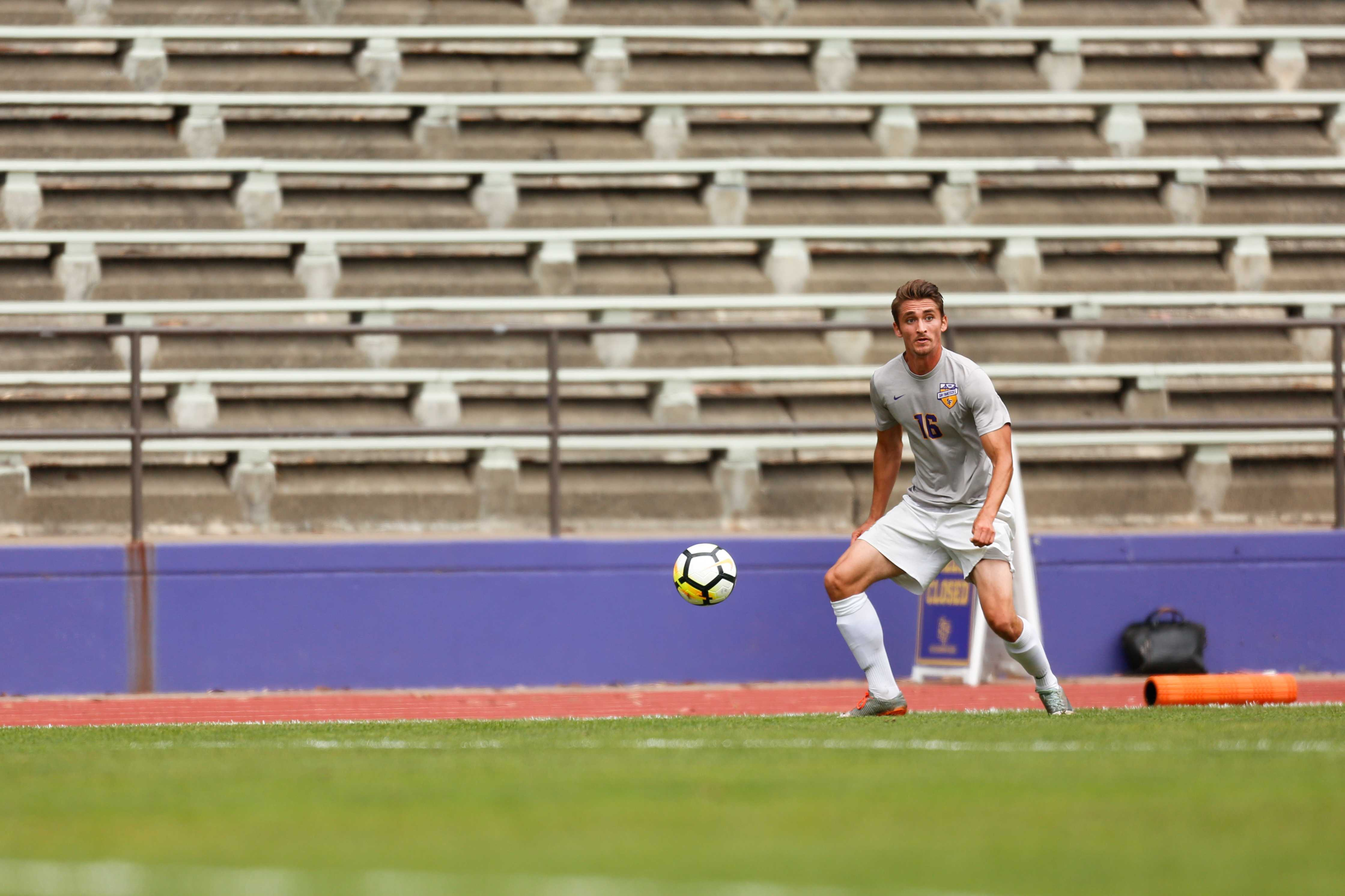 Men's soccer looks to finish strong with final two games of the regular season