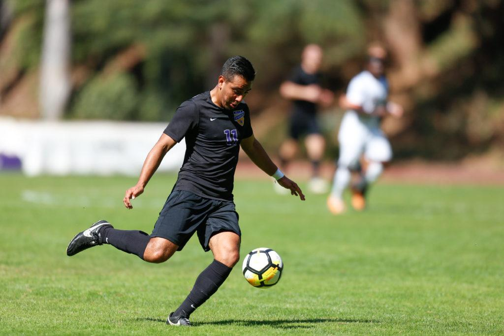 Men's soccer hosts Cal State San Marcos in a tight battle for CCAA playoff positioning this Friday
