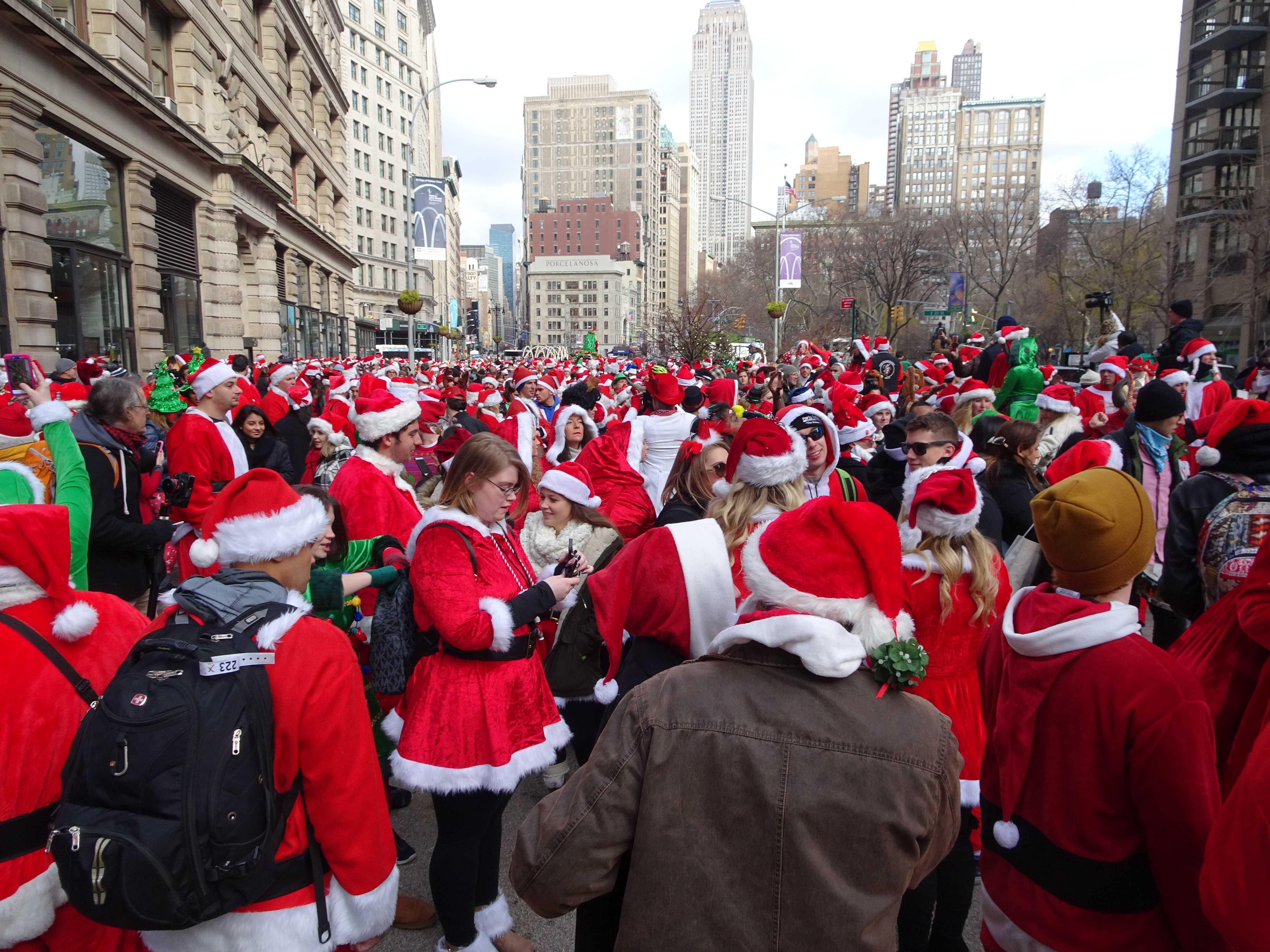 The time is near, Santacon is here