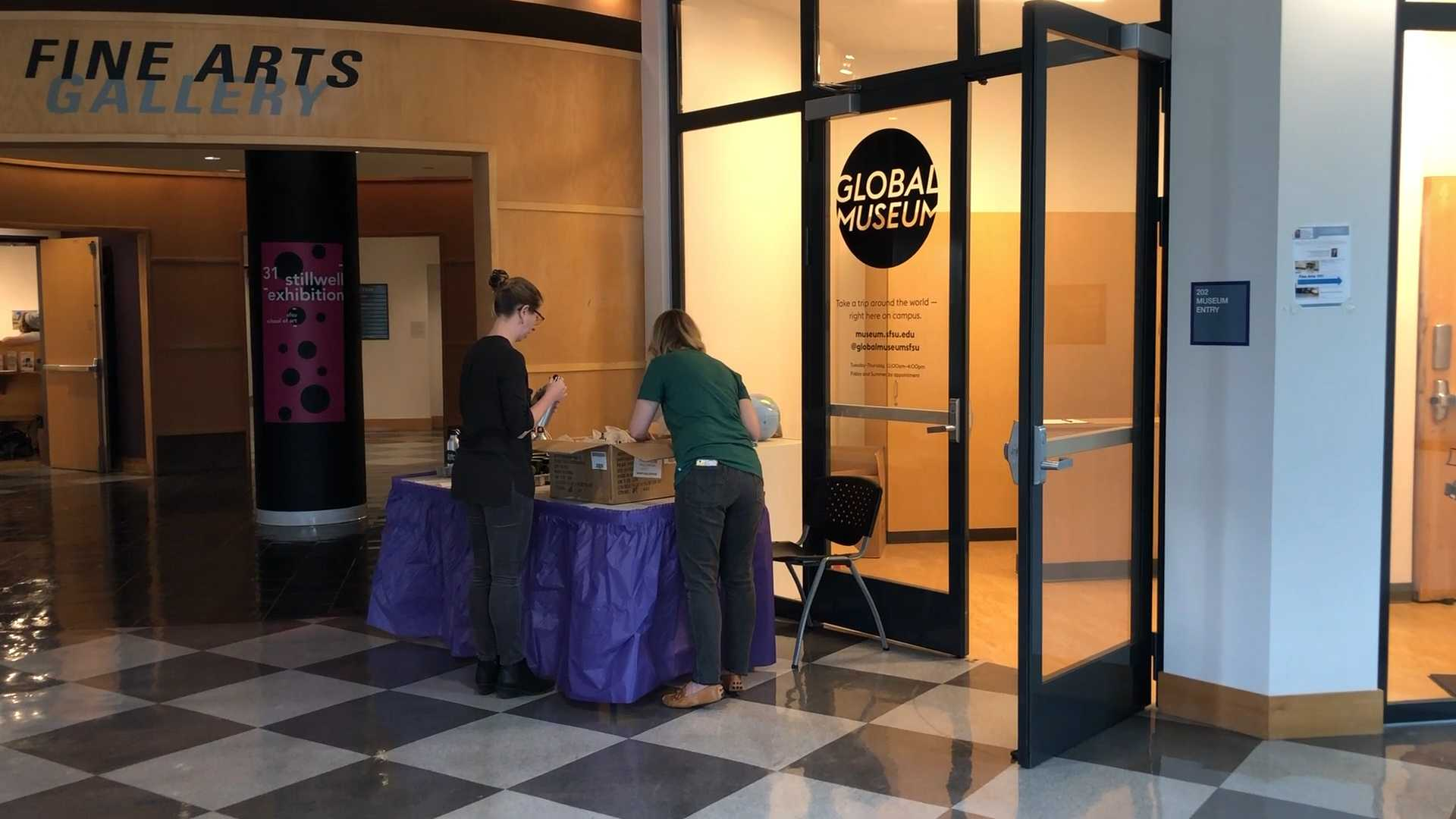 SF State's Global Museum Holds First Holiday Event