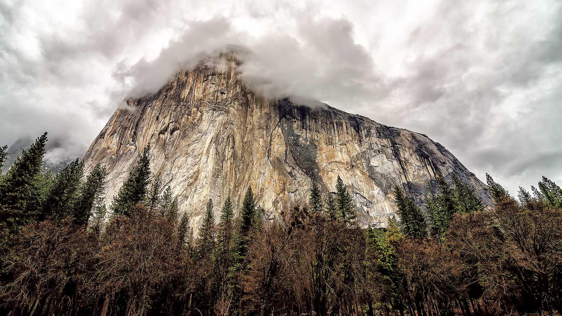 El Capitan. Yosemite Valley, California. Winter 2013.
