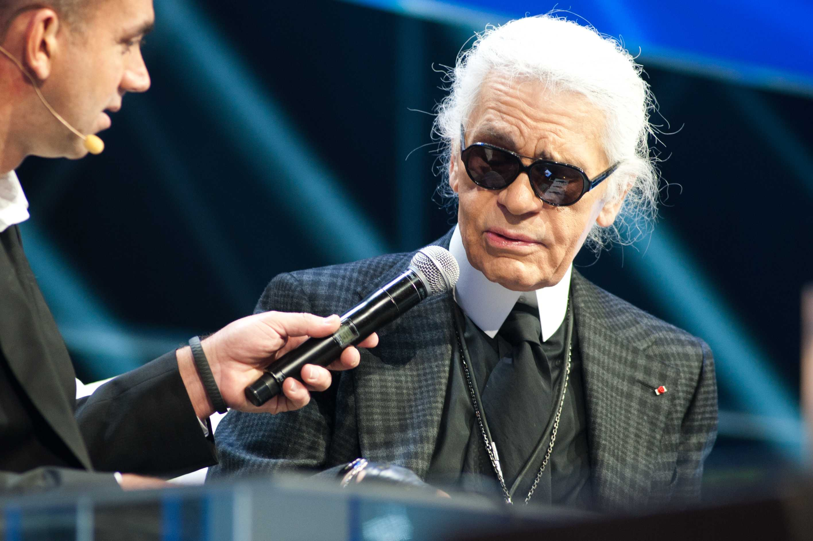 Fashion students mourn the late Karl Lagerfeld