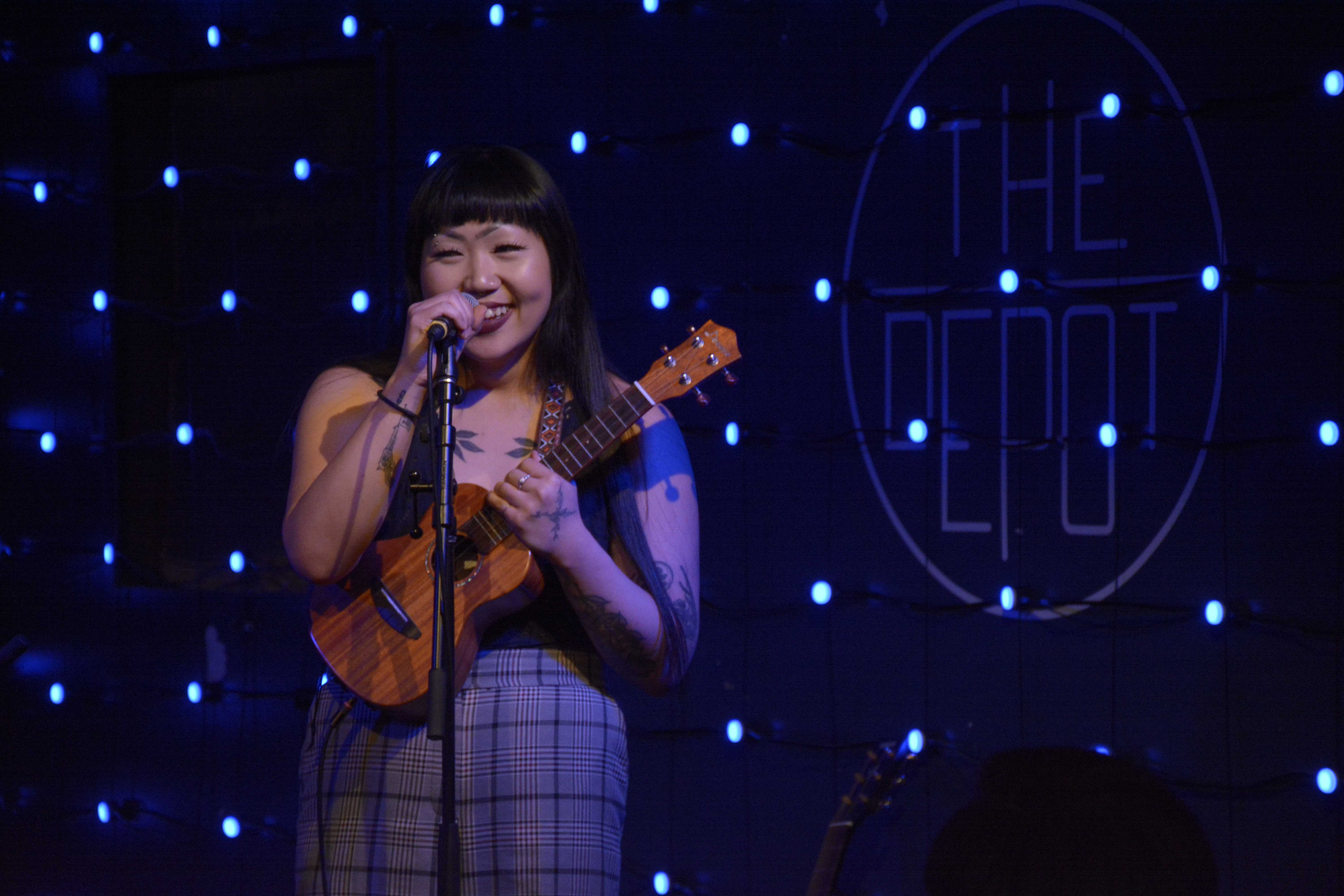 Broken Mic Night fills the Depot with poetry, music and laughs