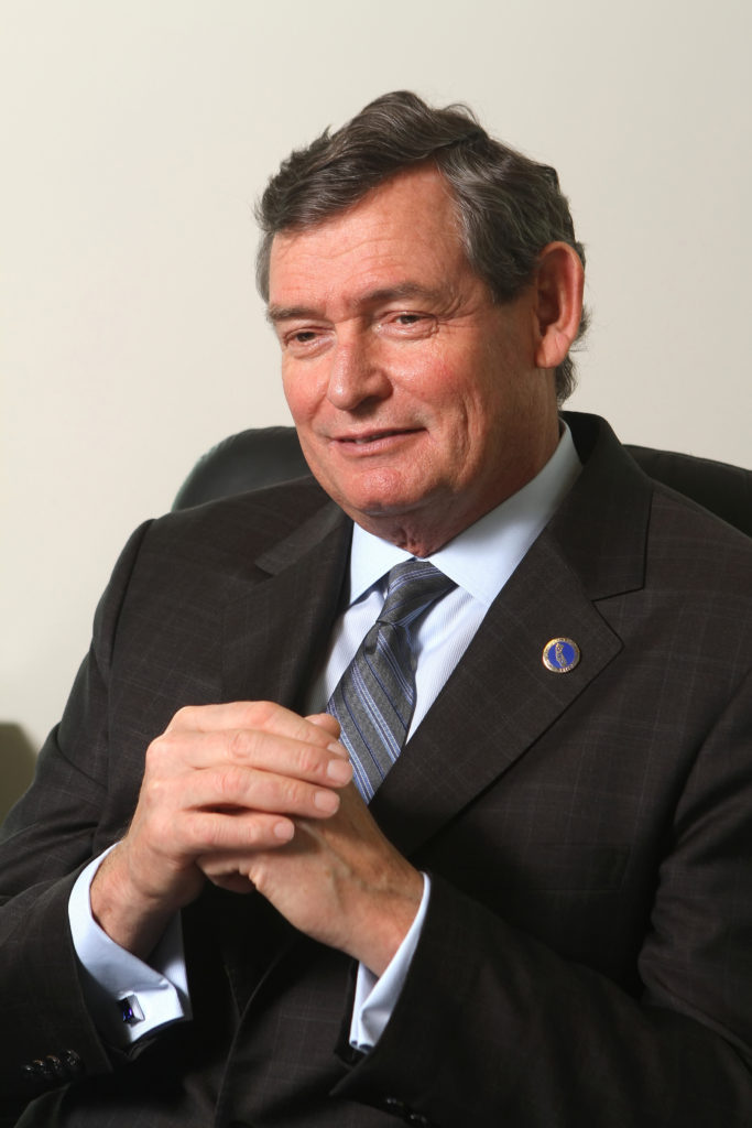 CSU Chancellor first man to be recognized in women's leadership ceremony