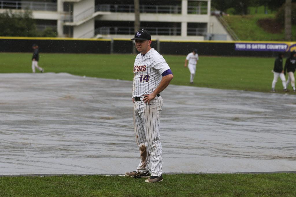 Wet weather shifts baseball schedule as Gators return home for first time in over a month