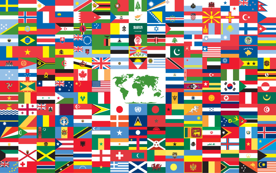 Graphic from The World Flag via Wikimedia Commons.