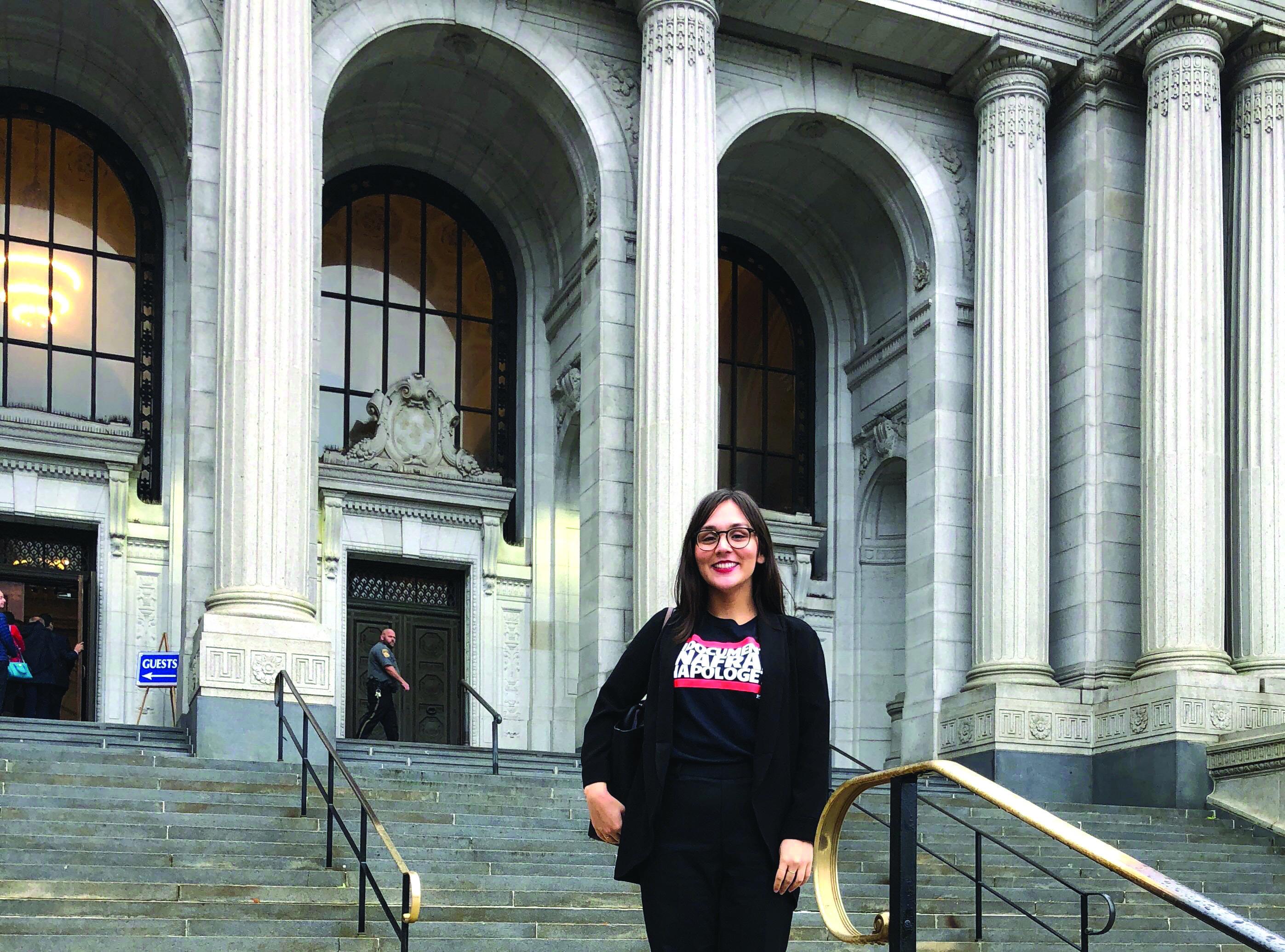 Alumna amends law, passes bar exam