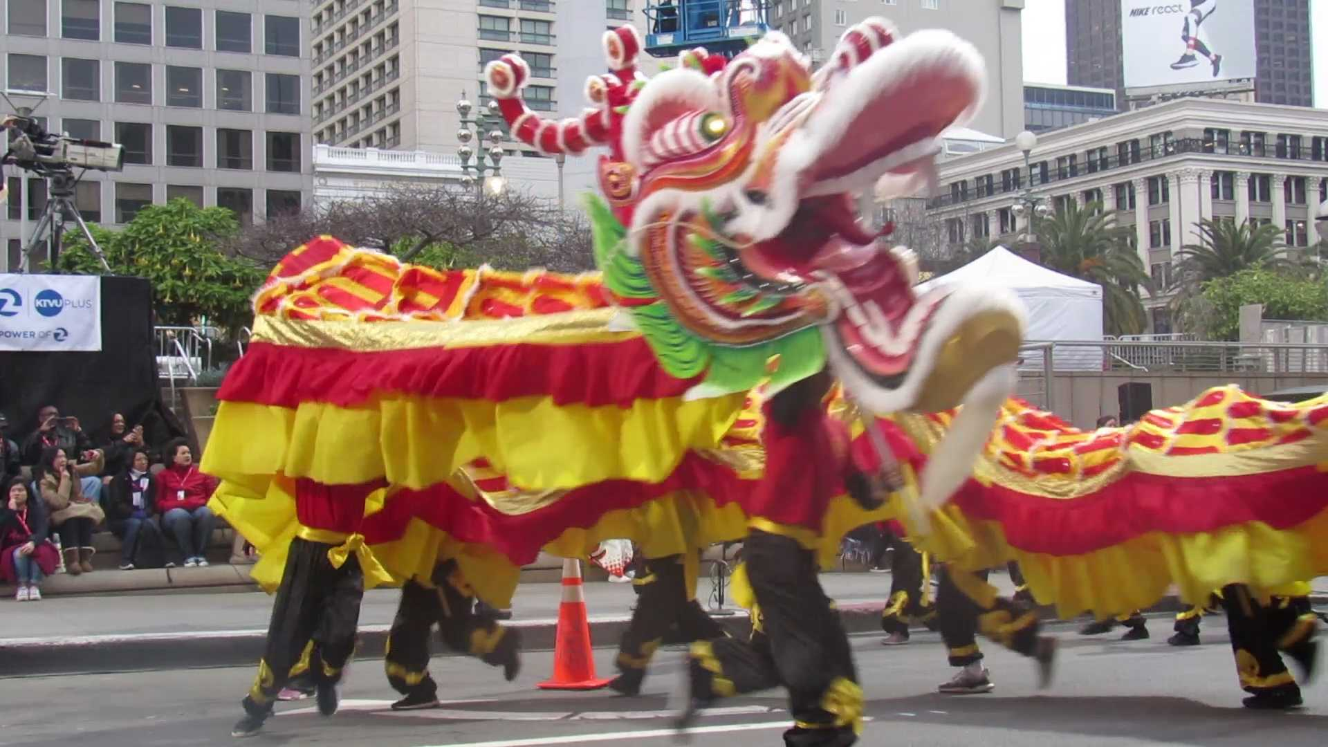 San Francisco's Chinese New Year Parade 2019