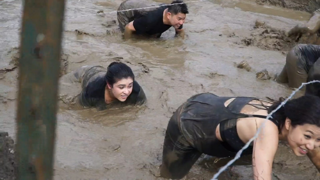 Rugged Maniac Obstacle Run at Alameda County Fairgrounds
