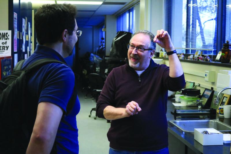 'Mushroom guru of the West Coast' inspires students, imparts expertise
