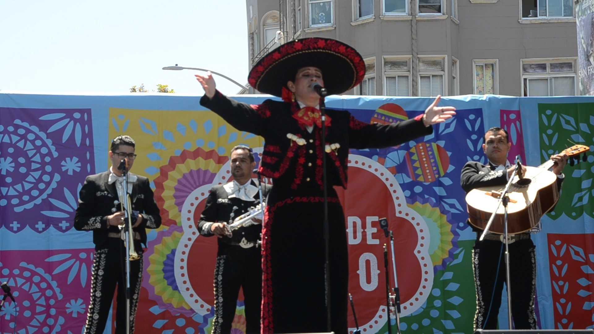The 15th annual Cinco De Mayo Festival in the Mission