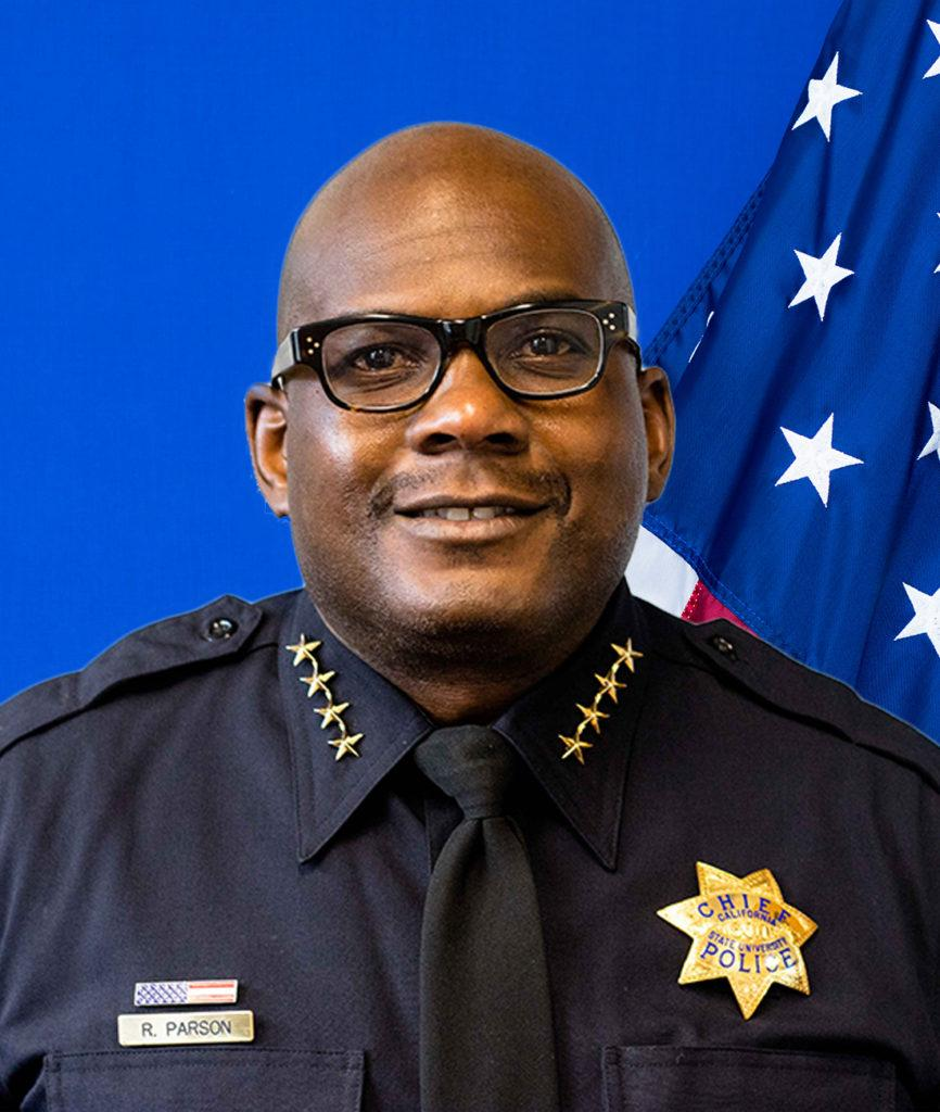 Chief of Police Reginald Parson.