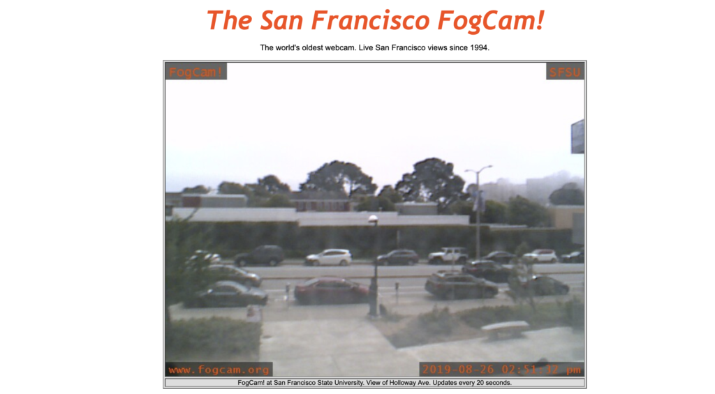 San Francisco FogCam