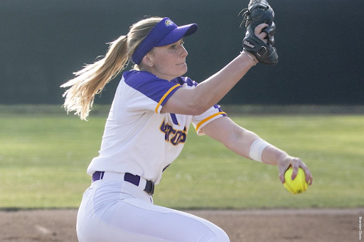 Natalie Minteer picked up both of SF State's wins on Saturday. Courtesy of San Francisco State Softball.