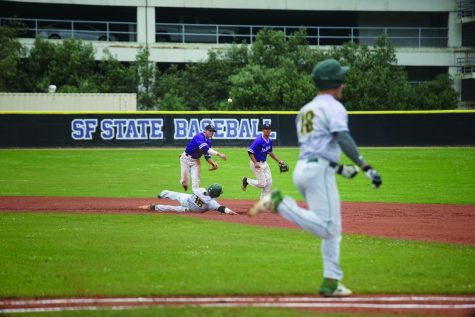 SF State baseball team comes up short against University alumni