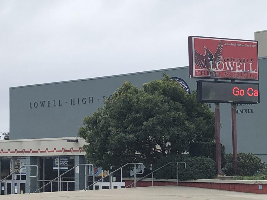 Lowell+High+School+shutdown+amid+coronavirus+concerns