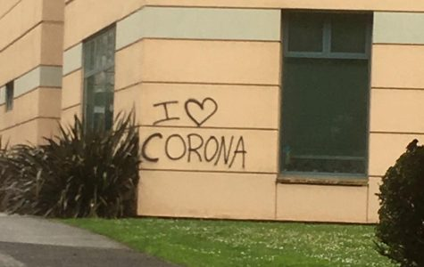 Photo of the day: Graffiti on campus