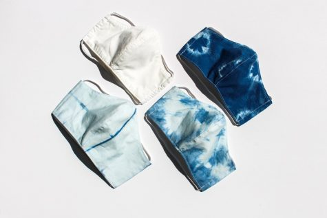 Stephanie Stimmler, Bay Area based Fashion Designer, makes sustainable cotton masks for healthcare and frontline workers.  (Photo courtesy of Stephanie Stimmler)