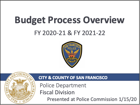 SFPD unveils $747 million budget plan for 2020