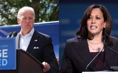 Kamala's addition to the Biden ticket makes her the third woman to ever be considered VP for a major political party– she follows in the footsteps of the former Alaska Gov. Sarah Palin in 2008 for Republican Sen. John McCain and former Rep. Geraldine Ferraro in 1984 for Democratic Party nominee Walter Mondale. Left Joe Biden (KentonNgo / Creative Commons) Right Kamala Harris (Gage Skidmore / Creative Commons)