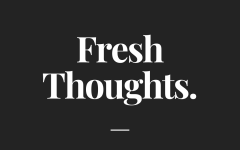 Fresh Thoughts hosted by Olivia Wynkoop