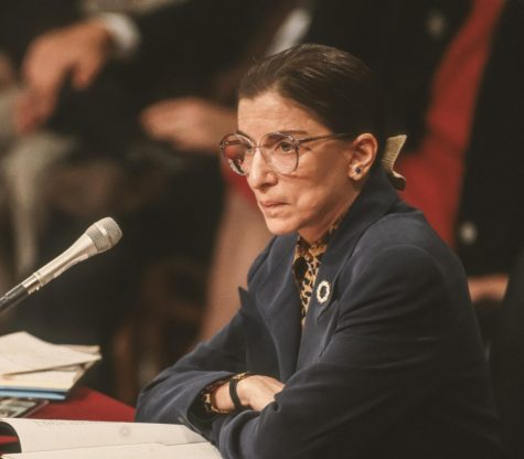 WASHINGTON, DC, USA -Ruth Bader Ginsburg, during confirmation hearings, U. S. Supreme Court. 7/21/1993 (Rob Crandall / Shutterstock.com)