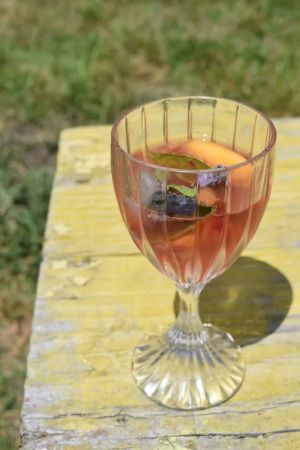 Happy Hour summer sangria!