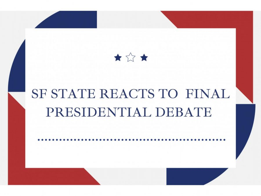 SF State reacts to final presidential debate