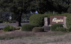 Despite surviving the Glass Fire, which destroyed 1,555 structures in the surrounding area, Angwin  was considered to be at high risk on Sunday night according to a representative of Cal Fire. (David Sjostedt / Golden Gate Xpress)