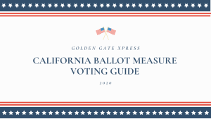 The Xpress 2020 California Ballot Measure Voting Guide (Con Traducción) (Sa Pagsasalin) (翻译)