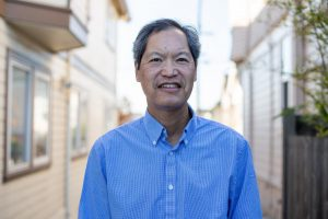 Russell Jeung, Asian American Studies professor at SF State, is  the co-creator of the Stop Asian American and Pacific Islander Hate project. Since the spread of the virus, 2,583 hate incidents directed at Asian Americans across the country have been reported. (Sean Reyes / Golden Gate Xpress)