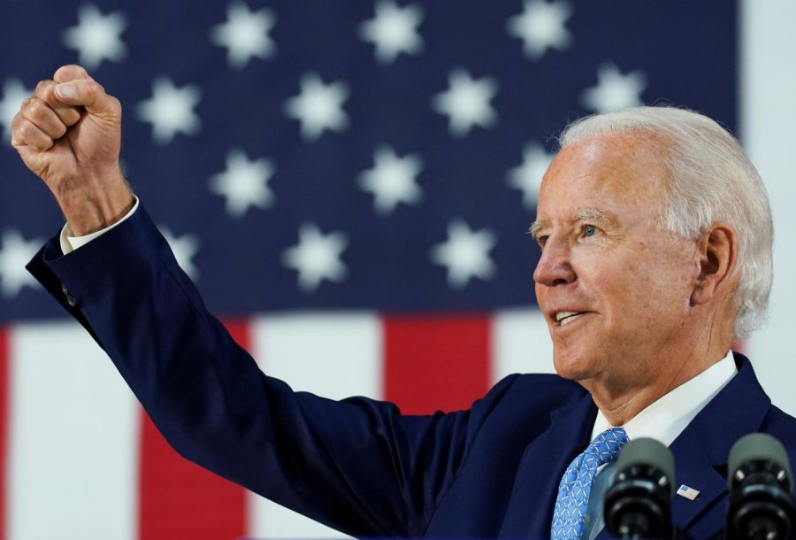 Joe Biden campaigning in Washington, D.C., on April 11, 2020. (VP Brothers / Shutterstock)