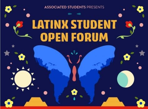The event that brought in over 20 students began with co-host Zoram Mercado, VP of internal affairs for AS, screen-sharing music while waiting for students to trickle in. On the call were a few Latinx professors that made themselves available for students to reach out to regarding academics and campus life. (Associated Students)
