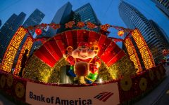 A float from the Chinese New Year parade from 2019. San Francisco's Chinese Chamber of Commerce announced its decision to hold festivities through a livestream in October. (David Yu / Creative Commons)